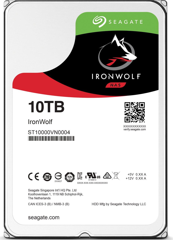 [Cyberport] Seagate IronWolf ST10000VN0004 10TB für 299,- -14% Payback = 262,90 nur noch heute !
