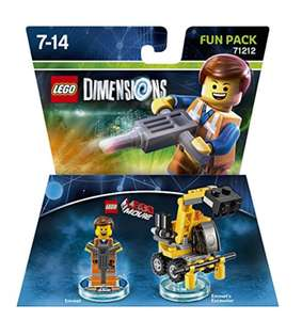 [amazon] div Lego Dimensions, z.b Emmet 71212
