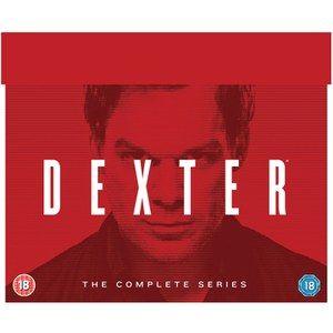 DEXTER - COMPLETE SEASONS 1-8 DVD (Englisch)