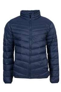 Lee Light Puffer Herren Steppjacke Blau Übergangsjacke (M-XL)
