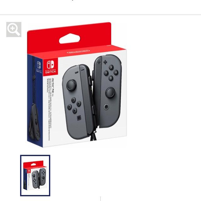 Nintendo Switch Joy Con 2-er Set [Quelle Gutschein]