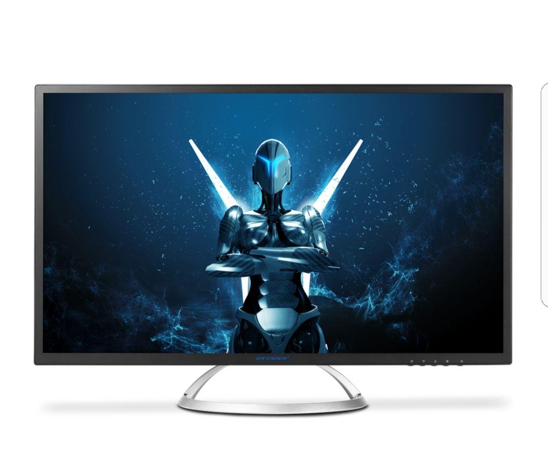 "MEDION® ERAZER® X58222 Widescreen Monitor, 80 cm (31,5"") LED-Backlight, QHD-Display, 5ms, HDMI, Displayport, integrierte Lautsprecher"