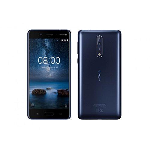 Nokia 8 Dual-SIM Blau 64 GB (Amazon.es)