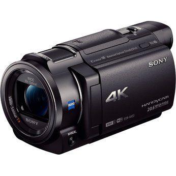 [euronics.de] SONY FDR-AX33 - 4K Camcorder - Schwarz - EXMOR R CMOS Sensor mit 18,9 Megapixel - ZEISS Objektiv