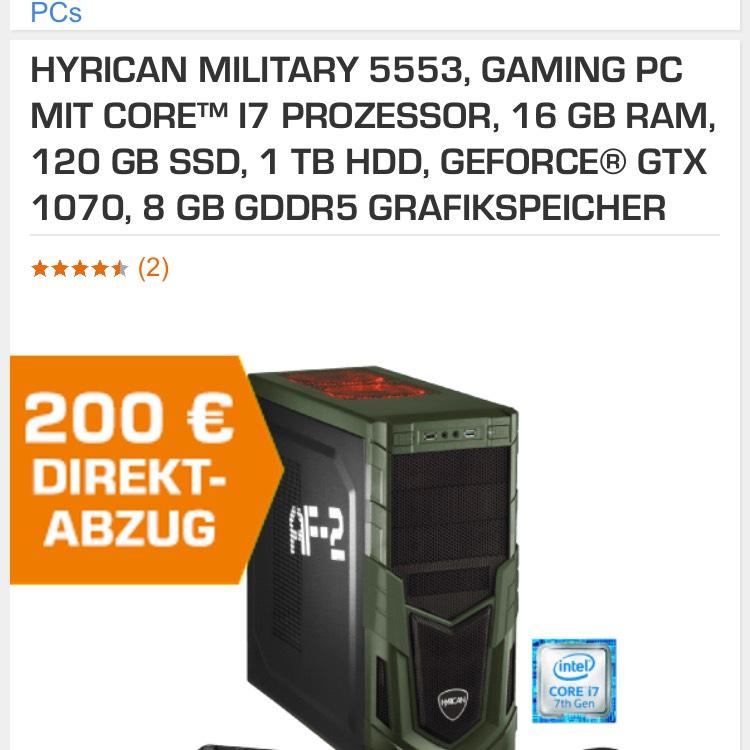 Guter Gaming Pc Hyrican