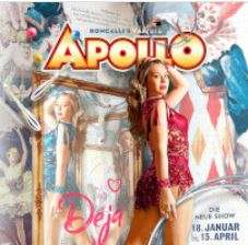 Apollo Varieté in Düsseldorf Tickets bei vente-privee.com