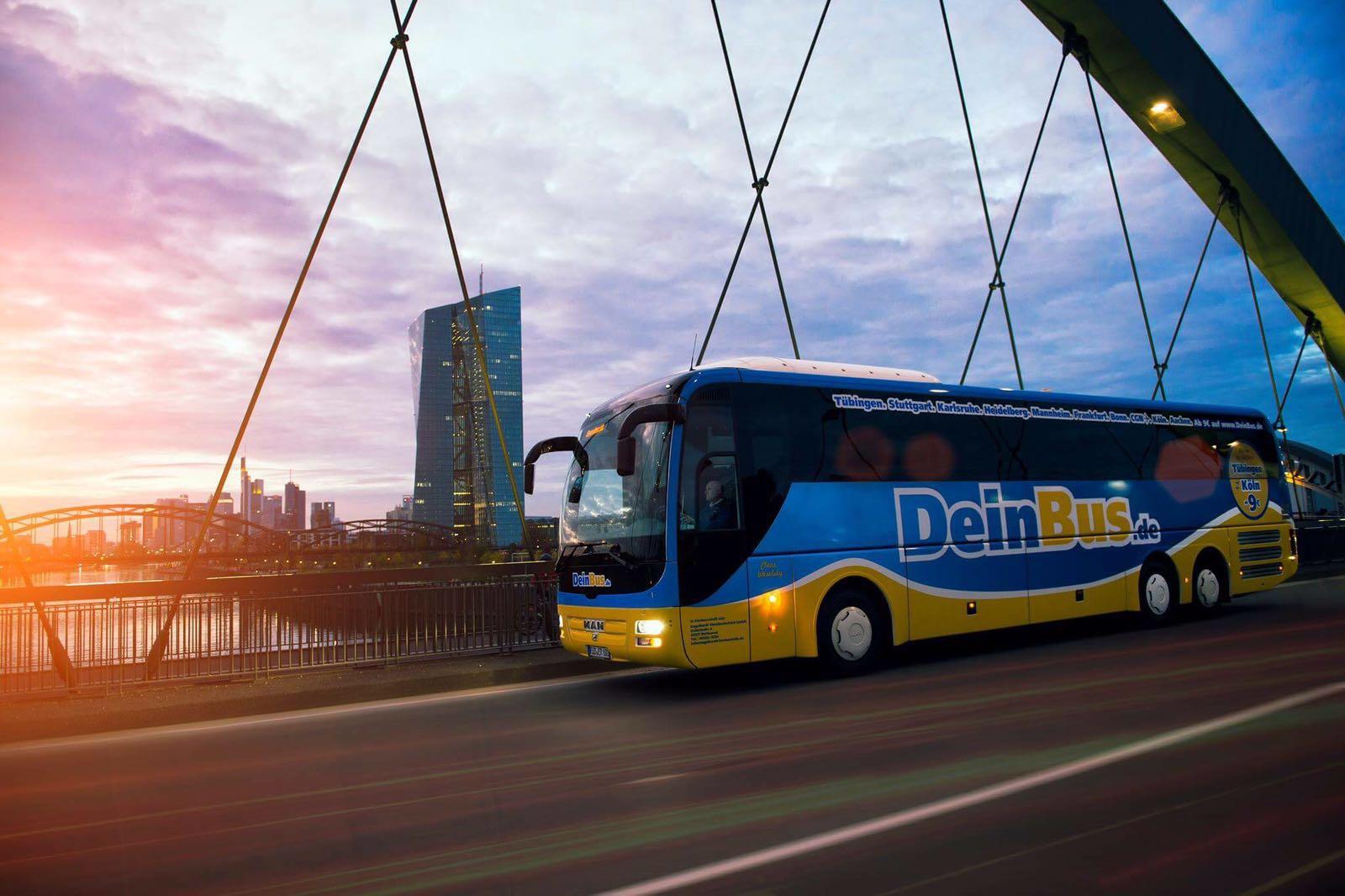 Mehr als 1000 1€-Tickets bei Deinbus!