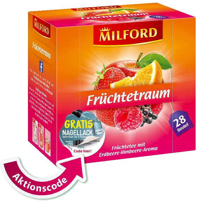Milford - 2x Tee Kaufen 1x Nagellack gratis