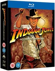 Indiana Jones - The Complete Adventures (Blu-ray) für 11,22€