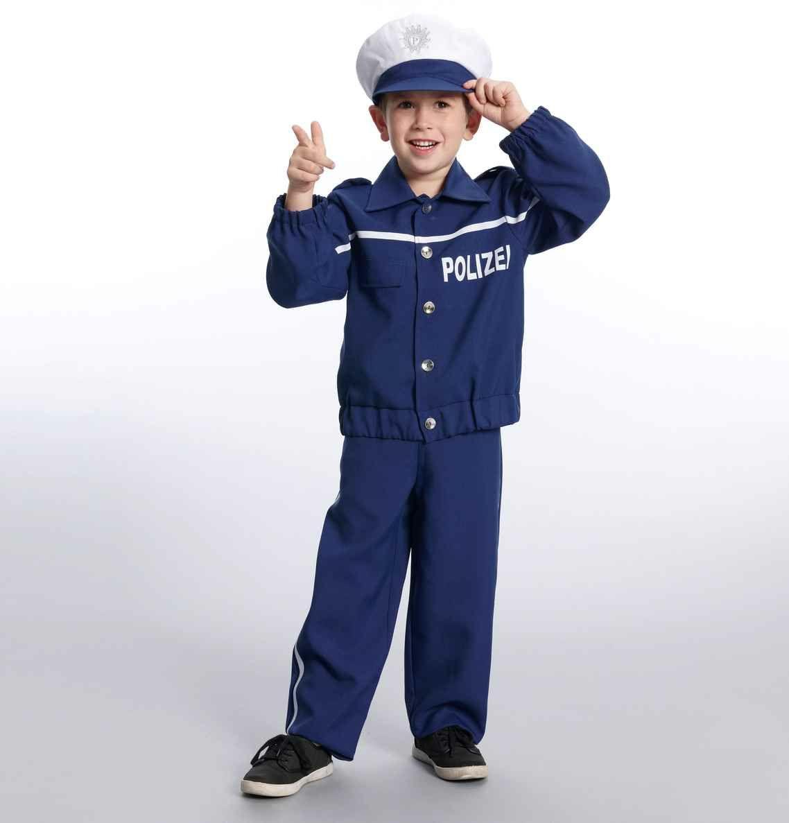 Polizei-Kostüm für Kinder