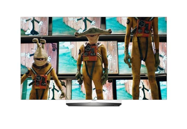 (SCHWEIZ / melectronics) LG 55B6V 4K OLED Fernseher