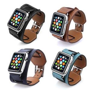 2 in 1 Armband für Apple Watch Uhr 42mm Bracelet Strap Uhrenarmband für 1€ bei Ebay / Royal Blau oder  Hellblau