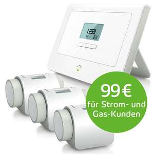 innogy smarthome paket w rme mit 4 heizk rperthermostat gratis. Black Bedroom Furniture Sets. Home Design Ideas