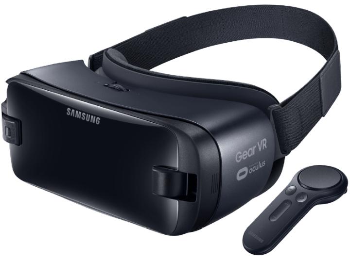 Samsung New Gear VR-Brille mit Controller (2017)
