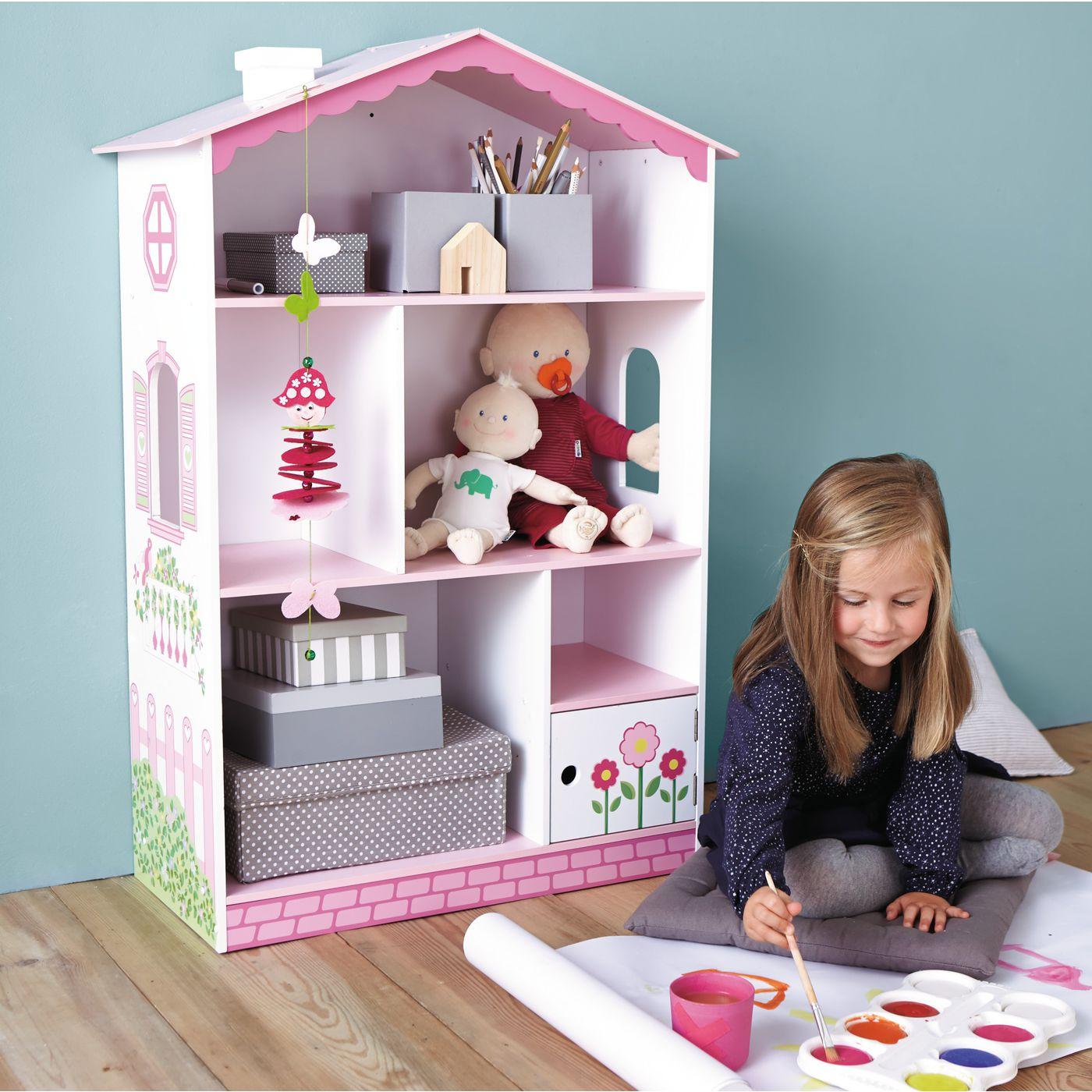 KidKraft Puppenhaus und Bücherregal - 97cm hoch