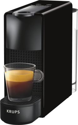 [marsmedia] Krups Nespresso XN1108 Essenza Mini Kaffeekapselmaschine (1260 W, Thermoblock-Heizsystem, 0,7 L, 19 bar) schwarz + 40 € Kaffeeguthaben bei Nespresso