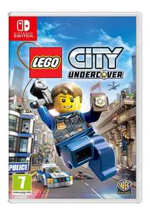 Lego City: Undercover (Switch) für 30,77€ (SimplyGames + Amazon)