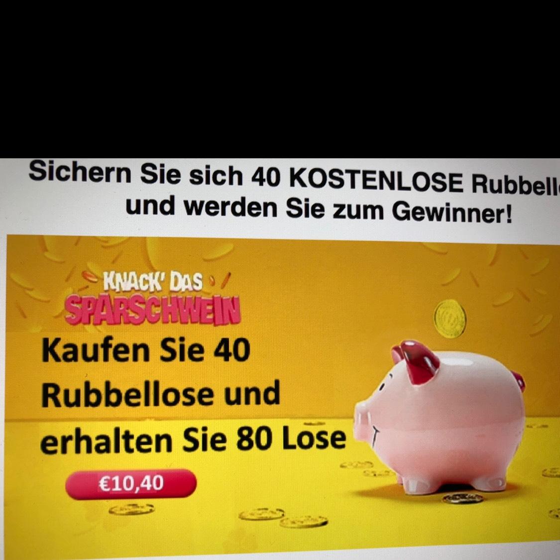 Lottopalace Knack das Sparschwein