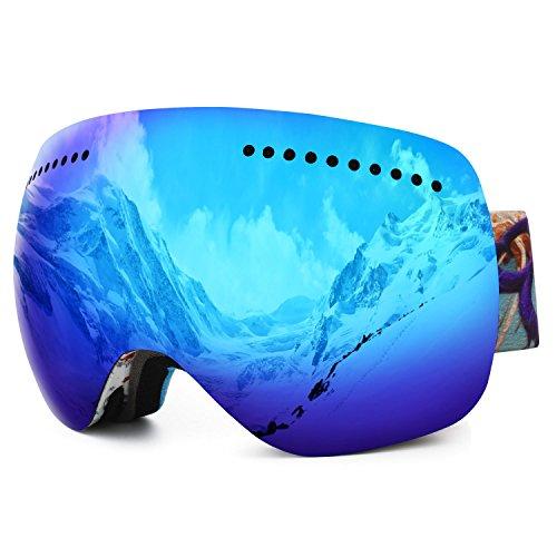 [Amazon] Skibrille bzw. Snowboardbrille für Erwachsene verschiedene Modelle mit UV Schutz & Co