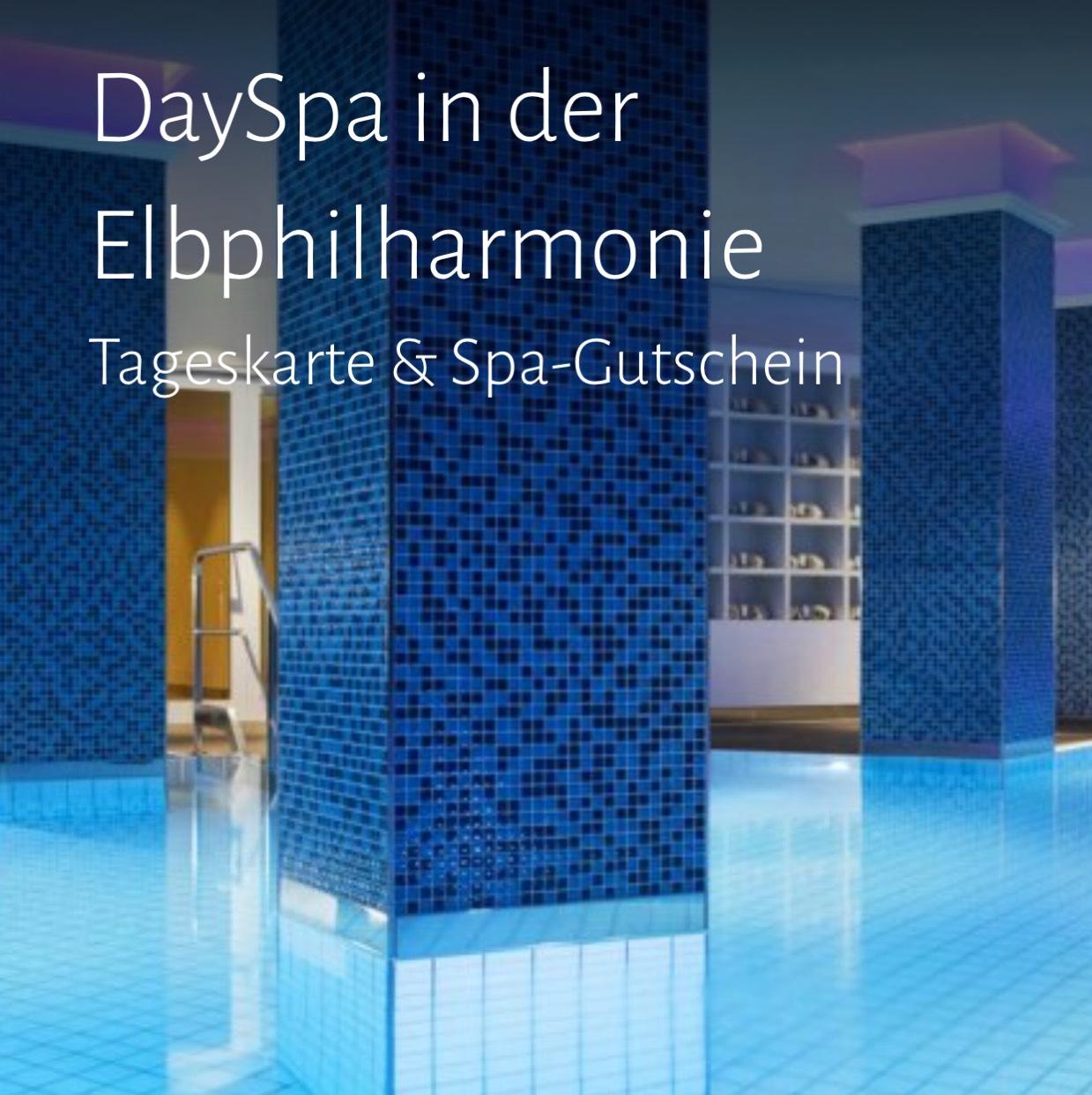 DaySpa in der Elbphilharmonie Tageskarte & Spa-Gutschein für 2 Personen  für 29€ statt 99€