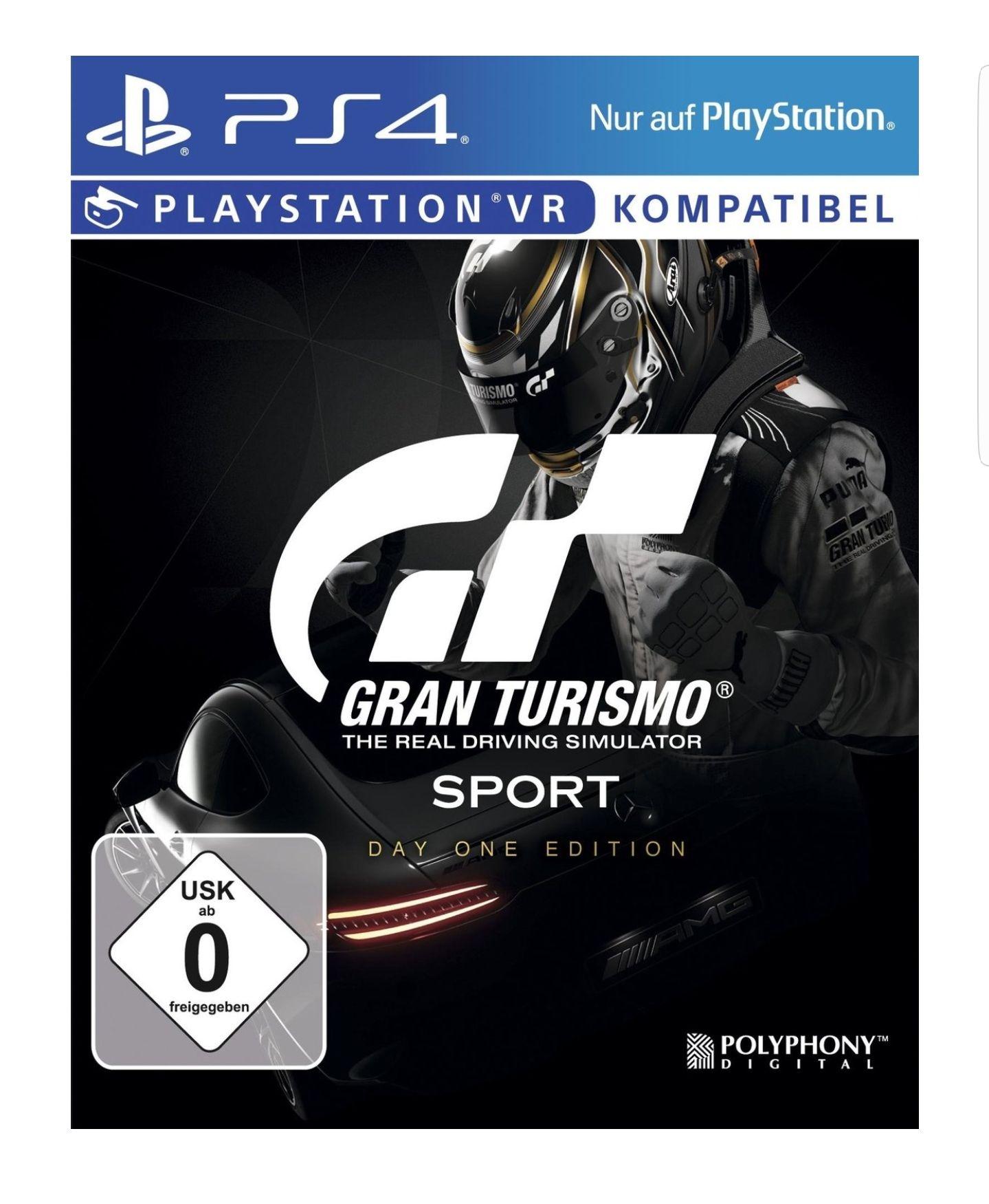 Rebuy Gran Turismo Sport [Day One Edition] mit 5 Euro Gutschein nur 28.99 Euro