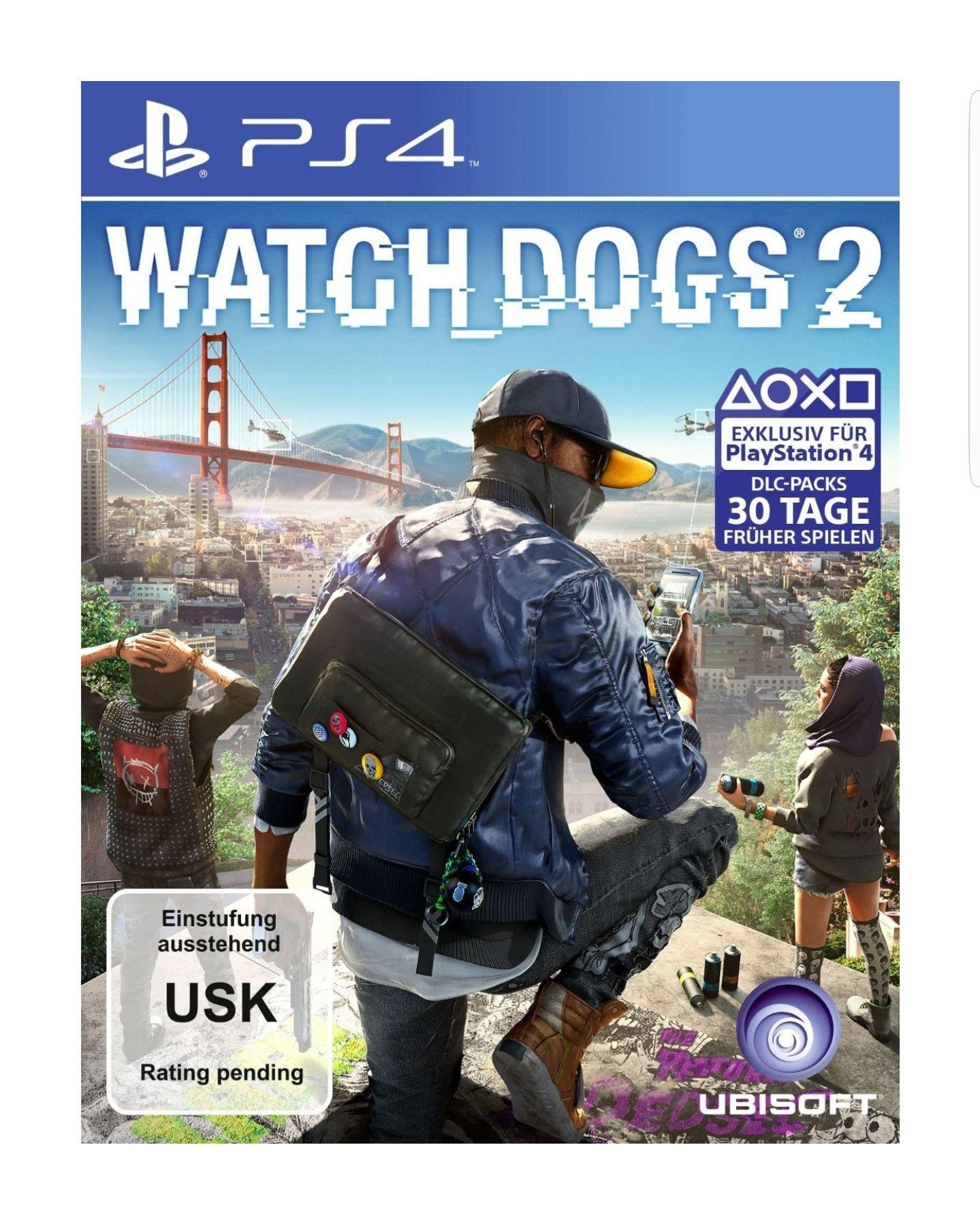 Rebuy Watch Dogs 2 (PS4) nur 13 Euro zzgl. Versand