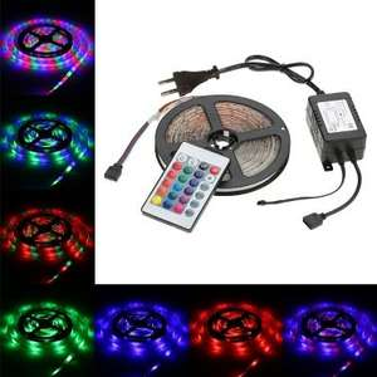 5m LED Strip mit Netzteil
