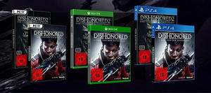 Dishonored: Der Tod des Outsiders Double Feature inkl. Dishonored 2 (PS4/Xbox One/PC) für je 22,99€ (GameStop)