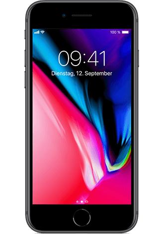 Iphone 8 Logitel Vodafone 16 GB LTE Allnet-Flat Junge Leute mit GIGA-Kombivorteil Vodafone-Pass