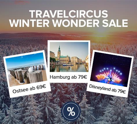 Travelcircus SALE - Disneyland 79€ / 5* Berlin 99€ / Iberotel Boltenhagen 69€ und mehr