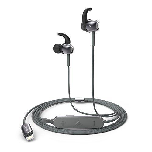 Anker SoundBuds Digital IE10 iPhone 7, iPhone 7 Plus Kopfhörer, Zubehör für alle Lightning Geräte, MFi Zertifiziert, Kopfhörer In Ear, für iPad und iPhone