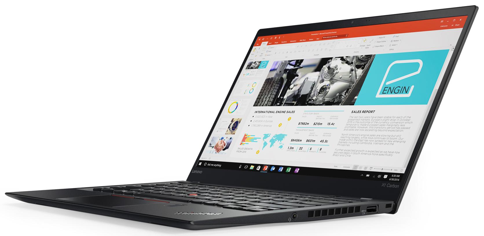 [notebooksandmore] Lenovo ThinkPad X1 Carbon 5. Gen. i7-7500U, 16GB RAM, 1 TB PCIe NVMe SSD