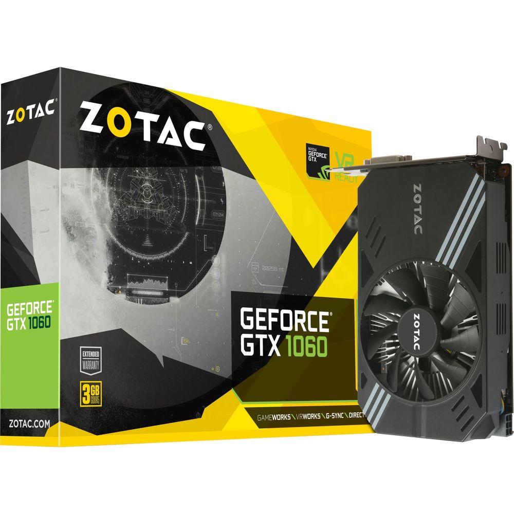 ZOTAC GeForce GTX 1060 Mini 3GB