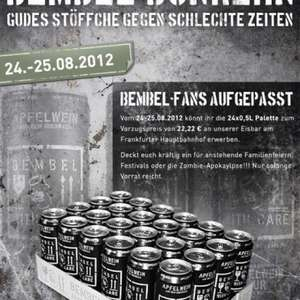 OFFLINE 24 x Bembel with care Apfelwein (0,5 l Dosen)