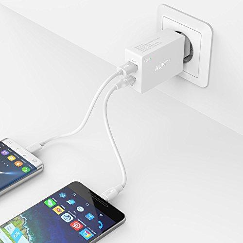 Aukey 2-Port USB C Ladegerät