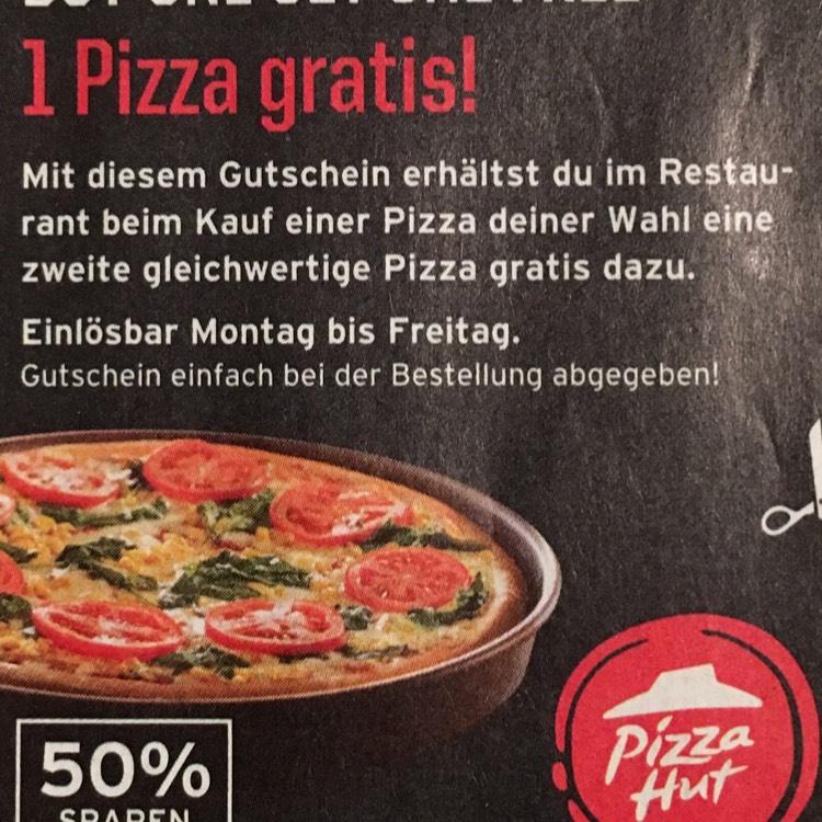[Lokal München] Pizza Hut 2 für 1 Pizza