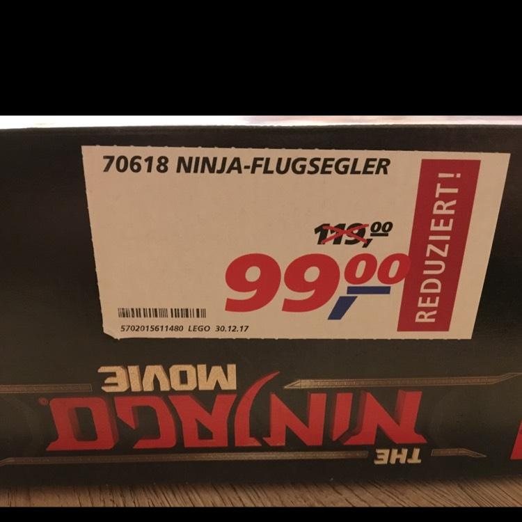 [Lokal][real Weiden i.d.Opf.] LEGO Ninjago - Ninja-Flugsegler (70618)