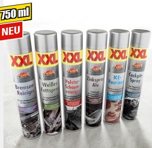 [Norma ab 8.1] verschiedene Sprays zb. weißes Fettspray, Zinkspray 750ml statt 400ml