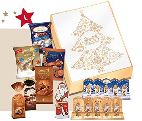 [amazon Prime] Weihnachtssüßigkeiten Sammeldeal, z.B. Lindt & Sprüngli Golden Xmas Präsentpaket Large, 1er Pack (1 x 905 g)