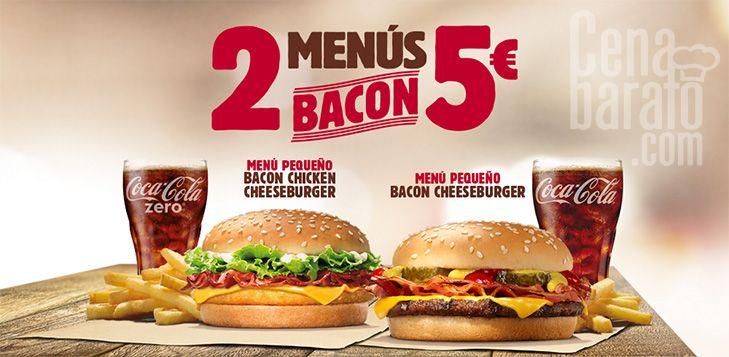 Burger King Aktion ab dem 14.1: 2 Burger mit Getränk und Pommes für 5€