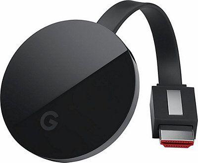 *wieder verfügbar* [Quelle.de] Google Chromecast Ultra 4K Streaming Media Player für 64,99€ inkl.Versand