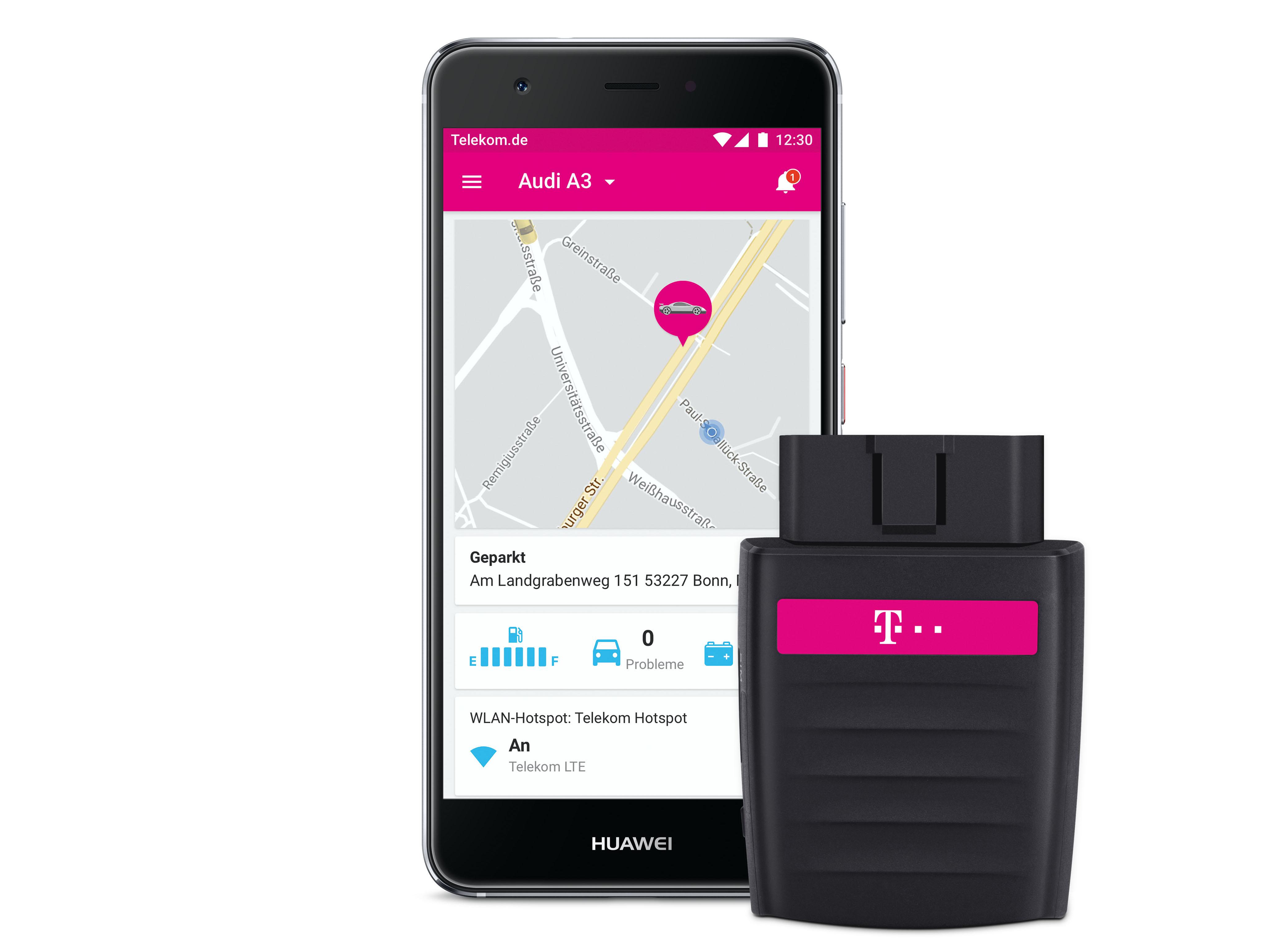 CarConnect für Magenta Mobil Kunden (ab S) kostenlos (Lokal - div. Orte)