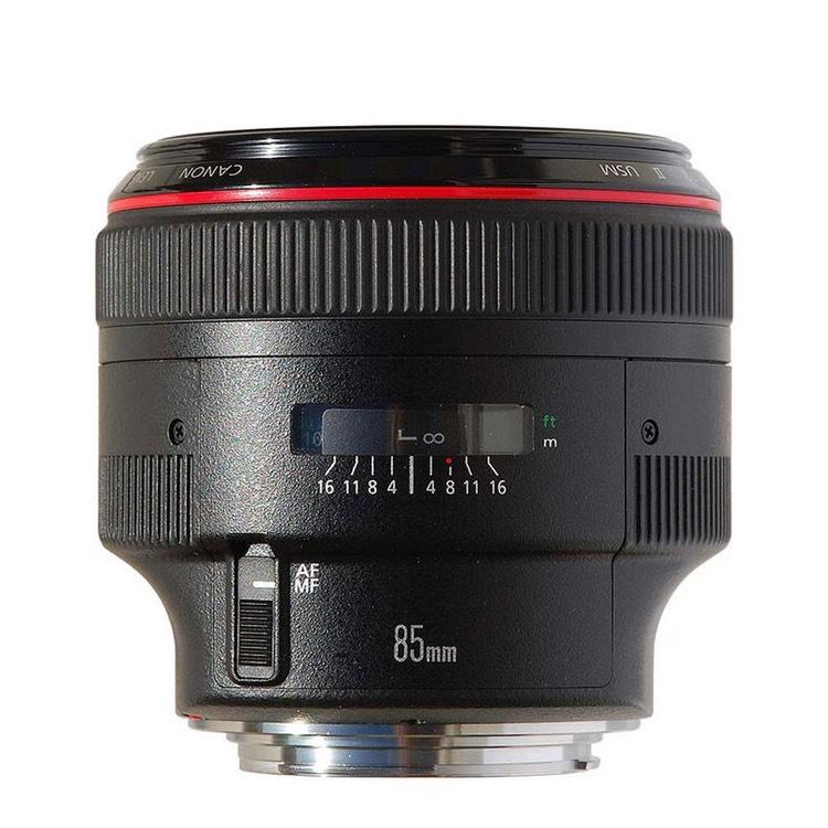 Canon EF 85mm f1.2 L II USM [AC-Foto] (+ weitere 125 € Cashback für Studenten)