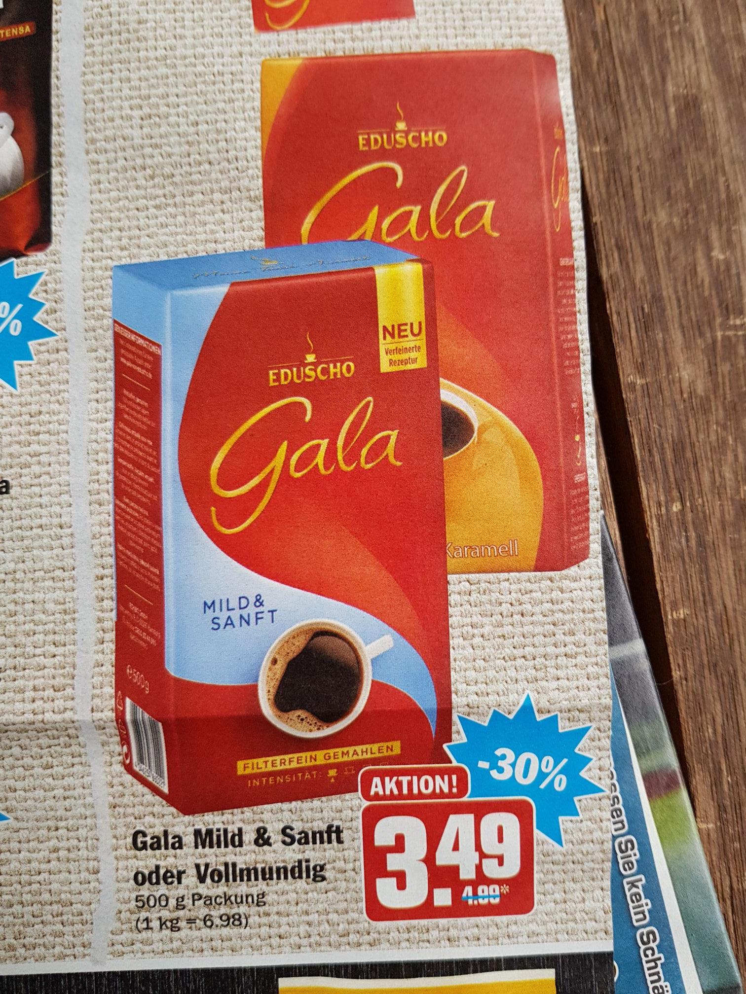 (Hit) Eduscho Gala Kaffee 500g verschiedene Sorten