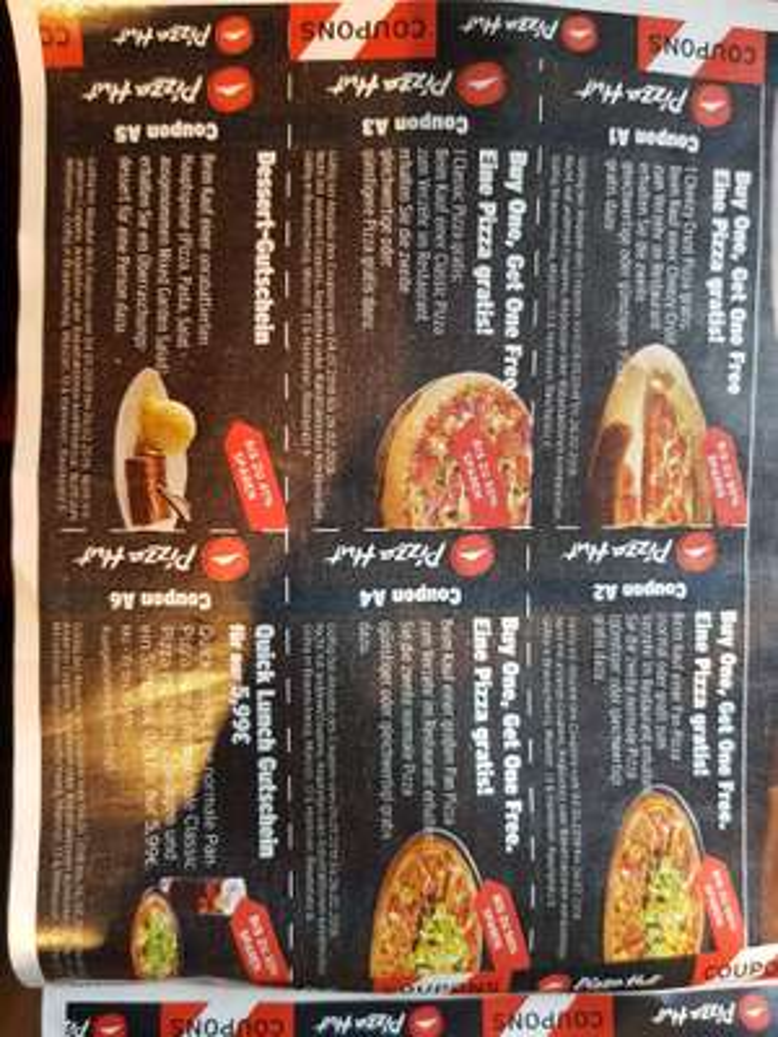 Lokal Hannover Braunschweig Pizza Hut 50% Gutschein