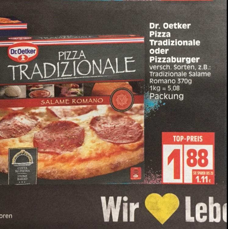 [EDEKA & NP REGIONAL] Dr. Oetker Pizza Tradizionale oder Pizzaburger