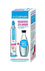[Amazon Marketplace] SodaStream Reservepack (Glaskaraffe + CO2-Zylinder)