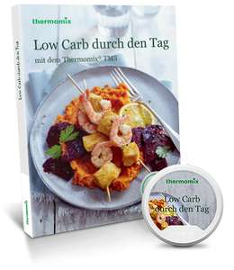 """Thermomix Kochbuch Set """"Low Carb durch den Tag"""" plus Chip und weitere Sets"""