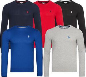 100% Baumwolle U.S. POLO ASSN. Rundhals Pullover Sweatshirt 6 Farben Ebay WOW