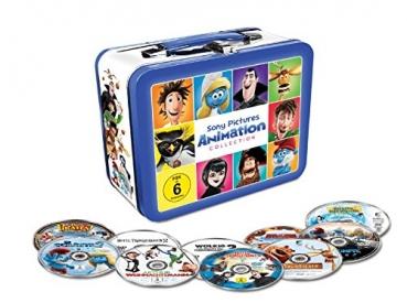 Animation 10 Filme Collection Limitiertem Koffer (DVD) für 12,93€ (Alphamovies)